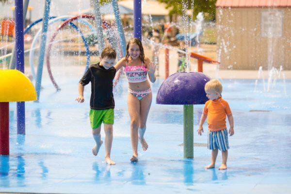 Children at Water Park