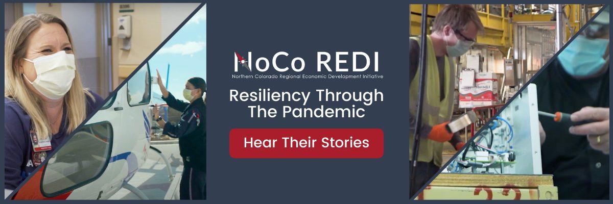 NoCo REDI Resiliency Video Promo Banner