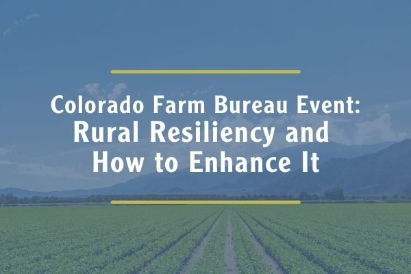 Upstate - Blog Post Header Image for Colorado Farm Bureau Event
